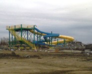 Crystal Beach water slide